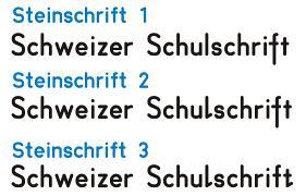 schweizer schulschrift gratis